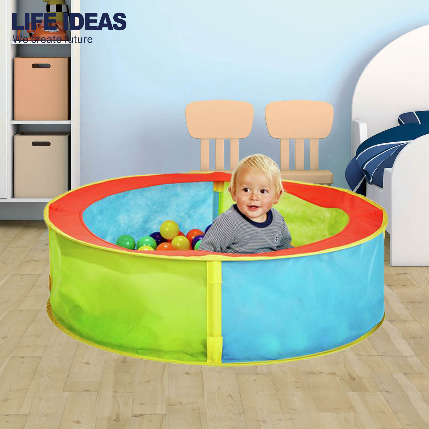 Round Non woven kid play ball pit