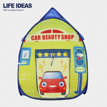 Car shop kid play tent